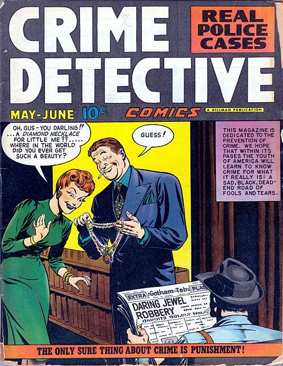Crime Detective (June 1948)