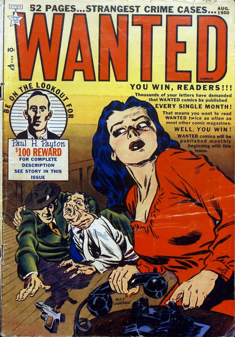 Wanted (August 1950)